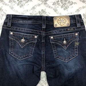 Miss me jeans sz 30 x 30 signature boot